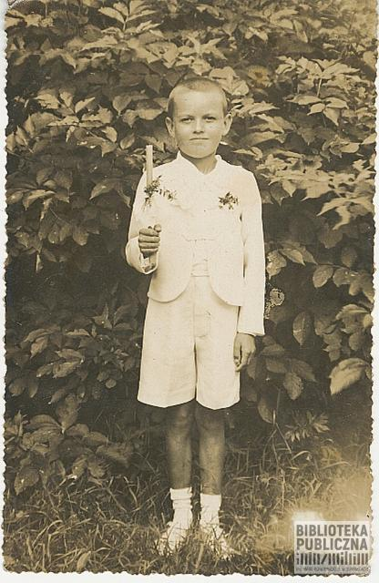 Leszek Nowikowski, I Komunia święta, Wiżajny 1938 r.