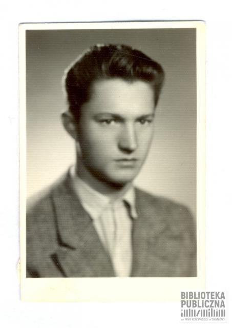 Fotografia Jana Bubleja (1940-1958) tragicznie zmarłego syna Aleksandra i Marii Bublejów. Ze zbiorów pani Ryty Mitros.